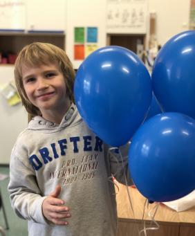 Nojus K., Grade 3 student,